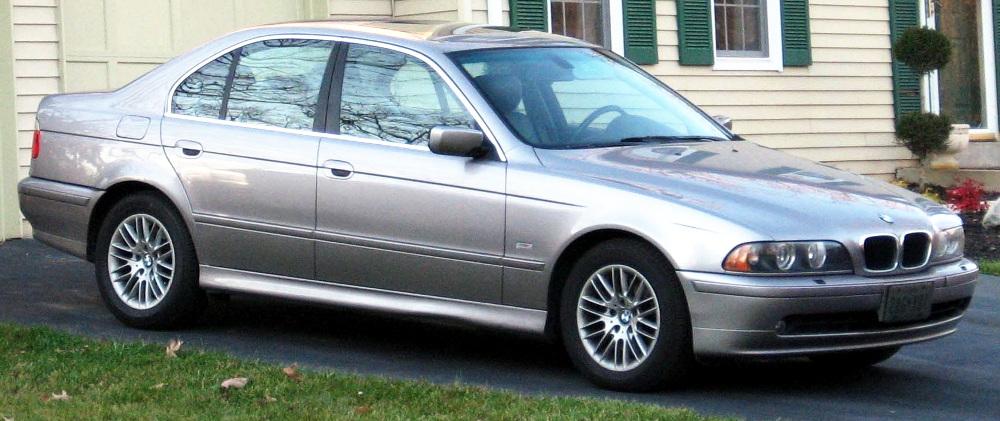BMW 5er (E39, ab 09/2000)