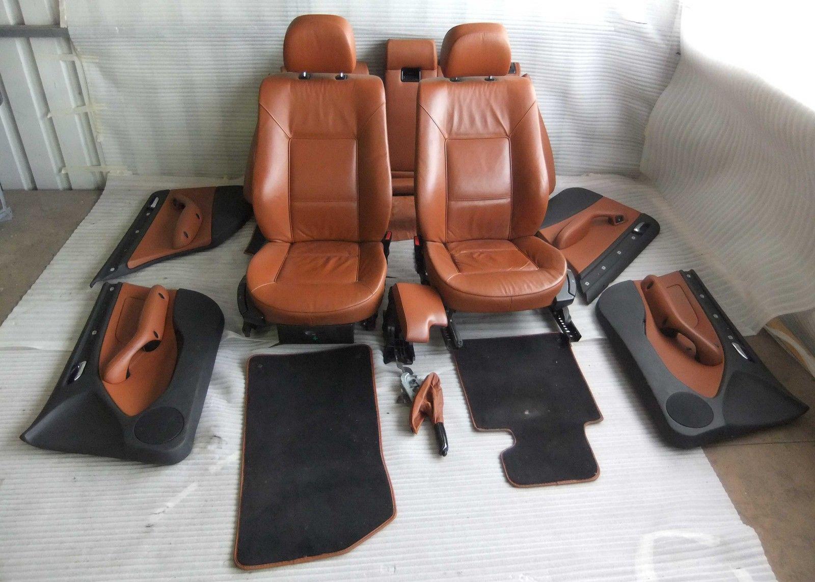 original bmw e46 3er touring ledersitze braun. Black Bedroom Furniture Sets. Home Design Ideas