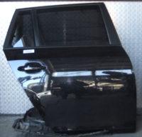 BMW 5er Touring E61 Tür hinten rechts Schwarz 2
