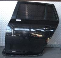 BMW 5er Touring E61 Tür hinten links Schwarz 2