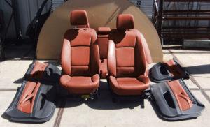 BMW 5er Touring F11 Sitze Leder mit Türverkleidungen