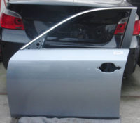 BMW 5er E60 E61 Tür vorne links silbergrau metallic